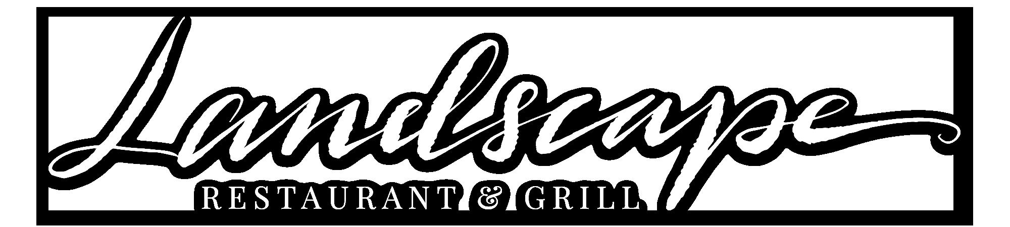 Landscape Restaurant Logo